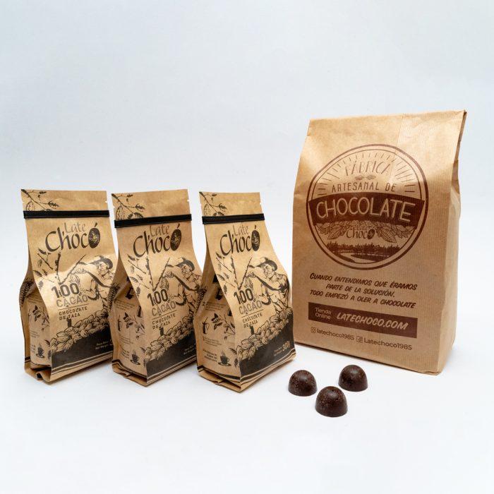 Kit taza 100% cacao Late Chocó