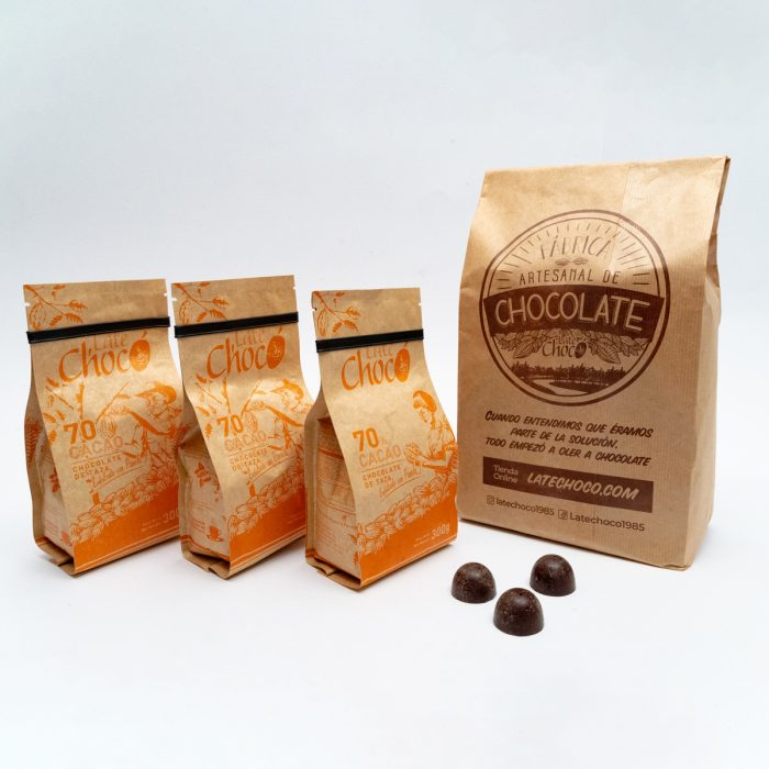 Kit taza 70% cacao Late Chocó