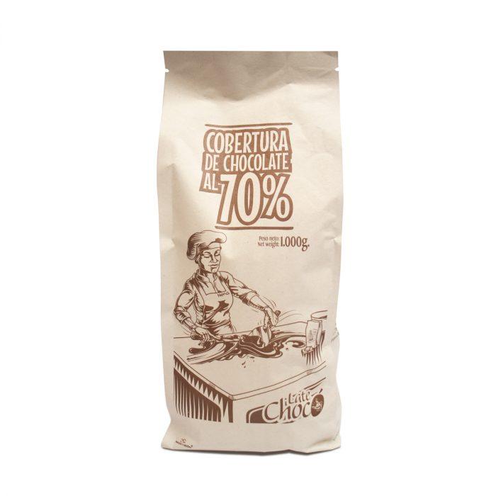 Cobertura de chocolate 70% cacao