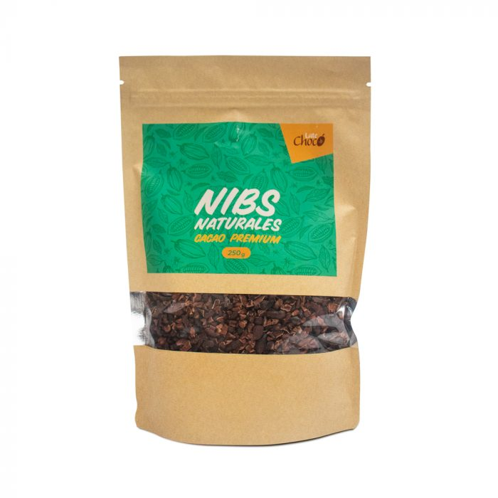 Nibs de cacao naturales Late Chocó